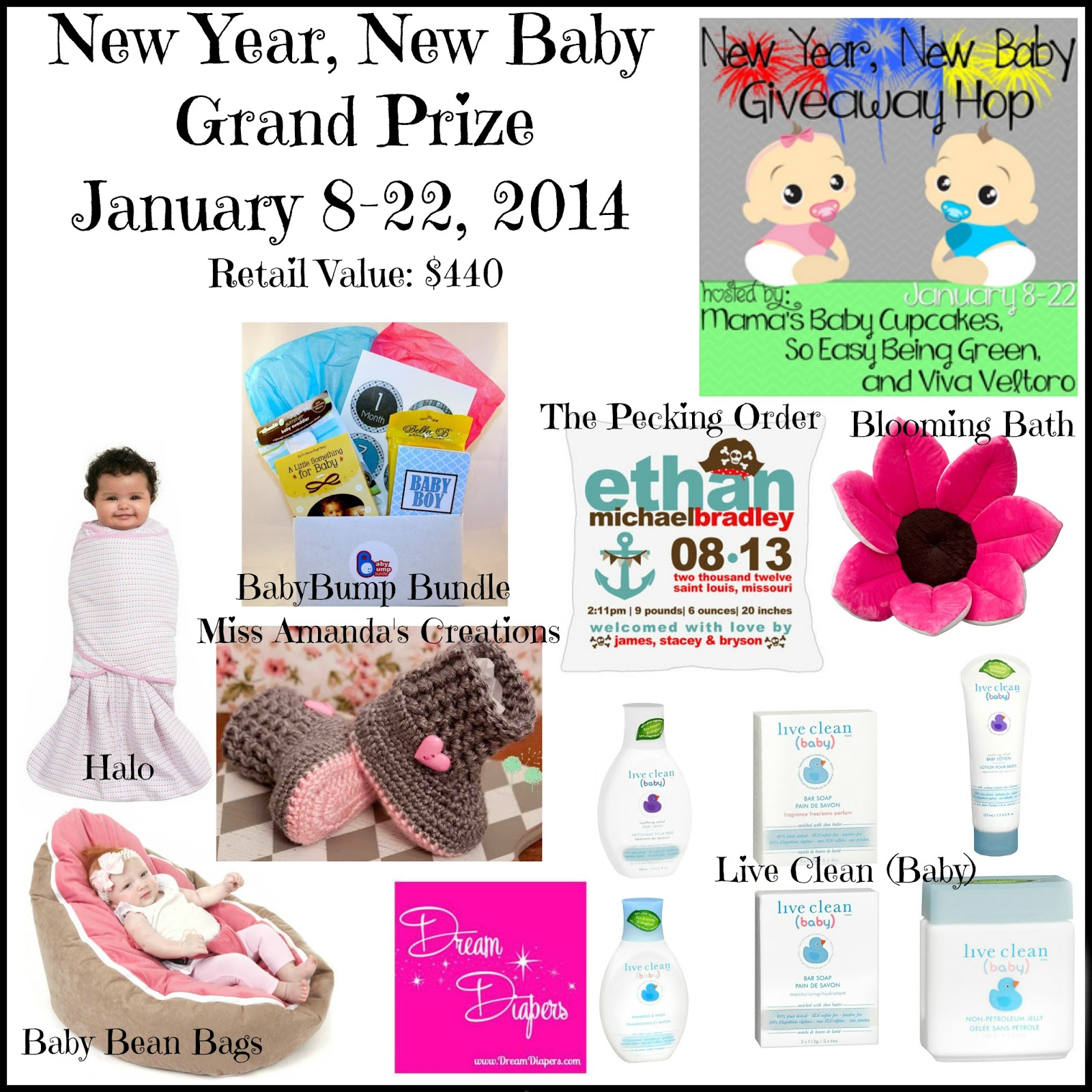 A YEAR OF JUBILEE REVIEWS: New Year, New Baby Giveaway with