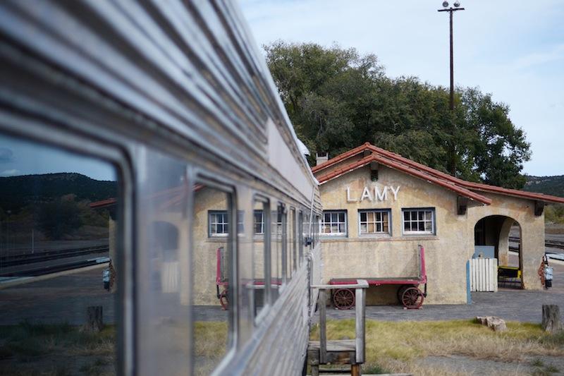 lamy new mexico train station amtrak