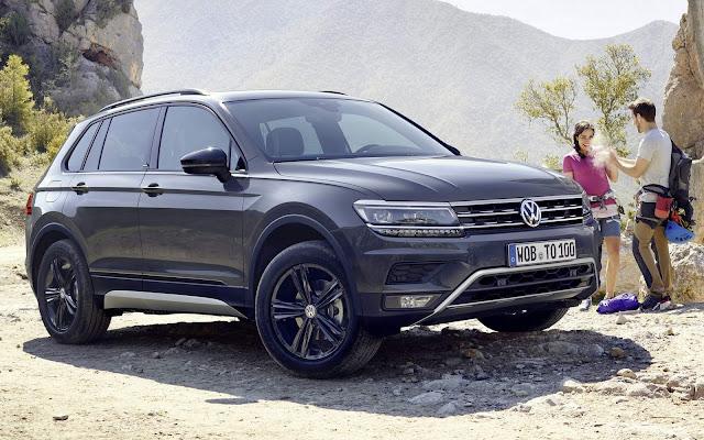 VW Tiguan Offroad