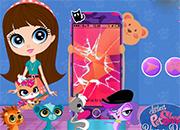 Littlest Pet Shop Phone Decor juego