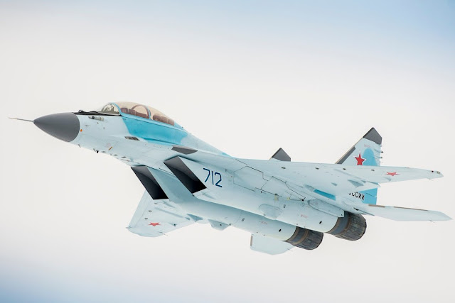 RUSSIA PRESENTS MIG-35, IT WILL REPLACE THE TOTAL FLEET OF LIGHT FIGHTER JETS