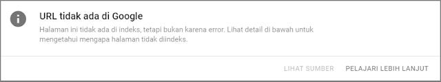URL Tidak ada di Google