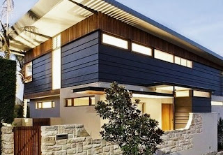 Modern Home Design With Natural Stone