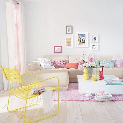 Rooms In Pastel Colors - Very Satisfying Eyes Decoration 4