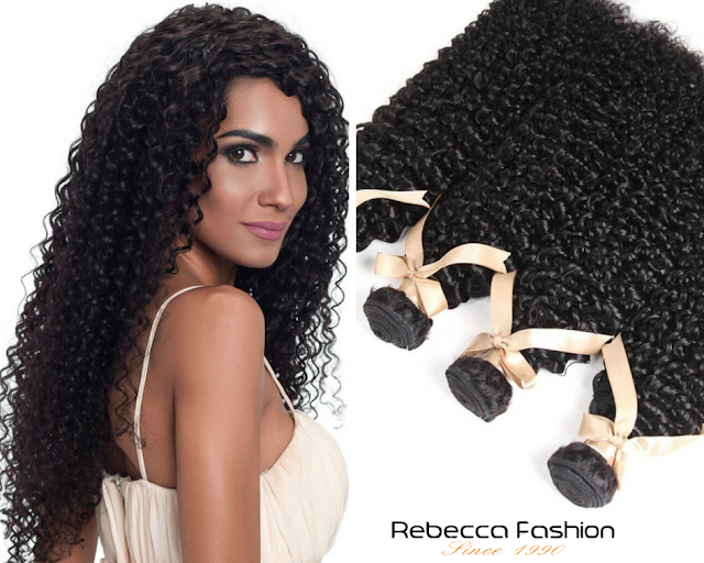 Rebecca Fashion - Kinky Hair Brazilian Human Hair