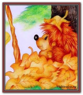 Cross stitch chart «FBKM 27 Freebie Autumn Fairies - artwork by Karen Middleton»