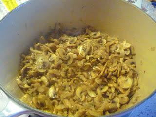 Crema de champiñones baja en calorias la cocinera novata receta cocina gastronomia bajo en calorias light crema de verduras sopa pobres economica vegetariana vegana funghi porcini
