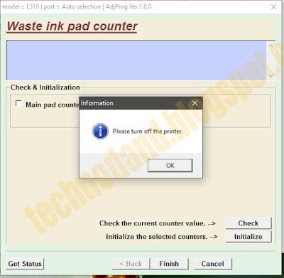 Tutorial Rеѕеt Printer Eрѕоn L130 L220 L310 L360 L365 blinking