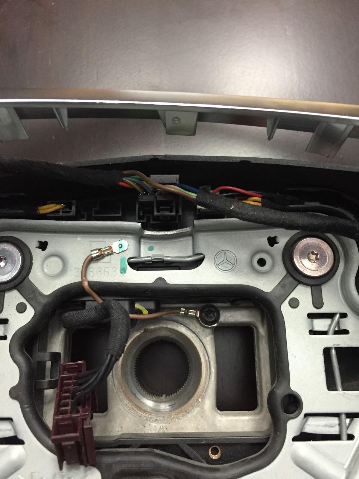 ls400 steering wheel removal