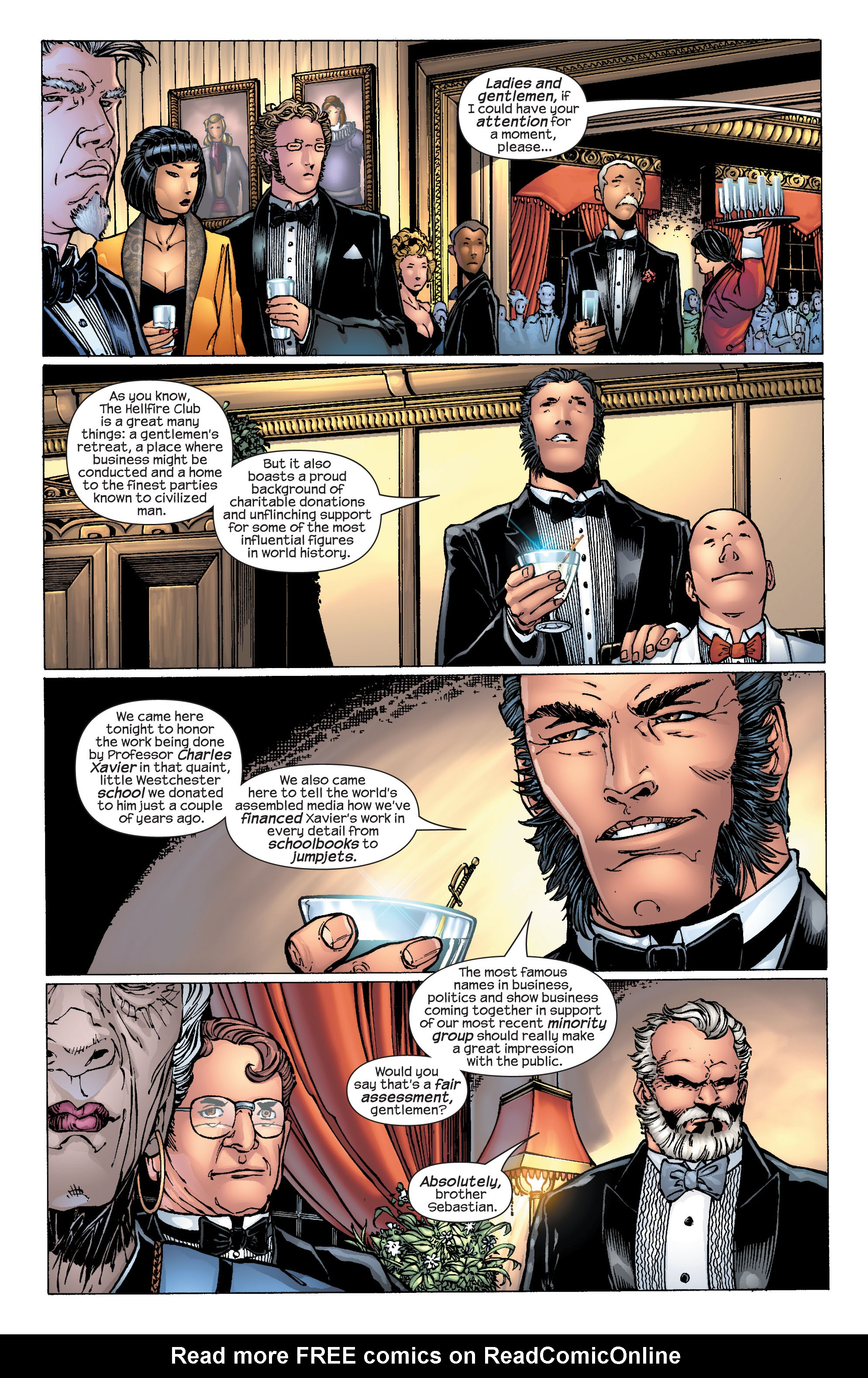 Read online Ultimate X-Men comic -  Issue #25 - 11