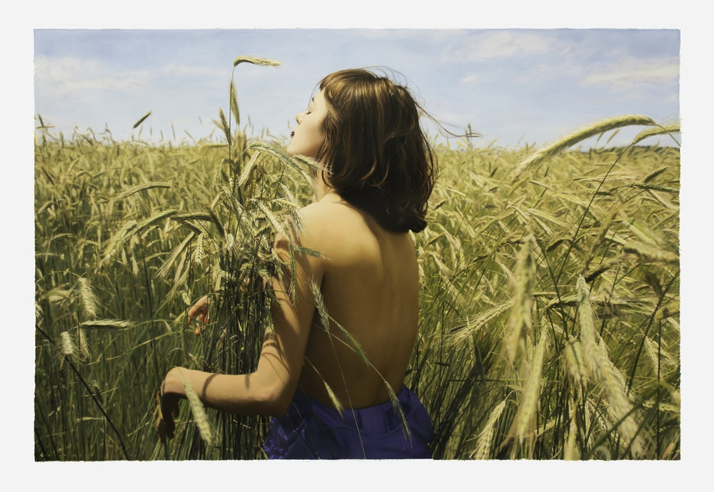 09-Untitled-Olya-Yigal-Ozeri-Realistic-Photo-like-Oil-Paintings-www-designstack-co