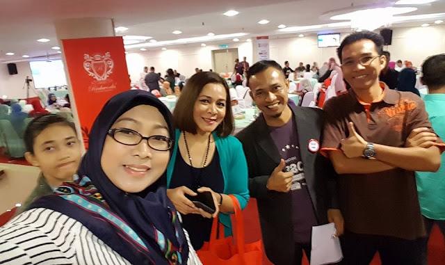Nur Misnan, Kongsi Bersama Nora, SBB2016, Sepetang Bersama Blogger,