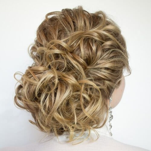 prom, delightful, updos for long hair