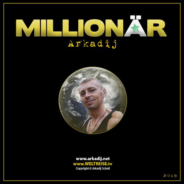 Album MILLIONÄR vom Bremerhavener Rapper und Produzenten Arkadij Schell