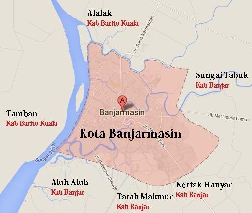 KotaKita.com: Wilayah Kota Banjarmasin