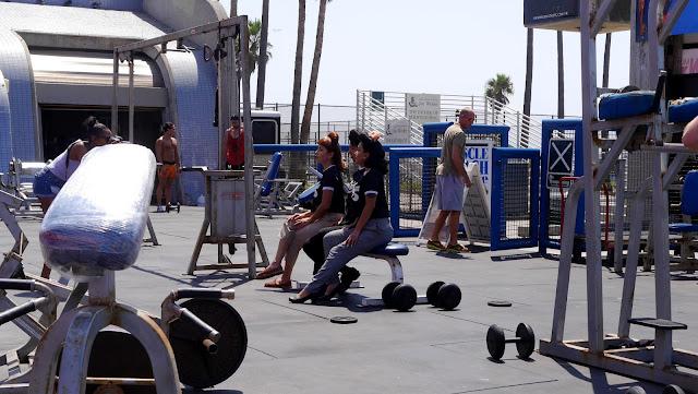 siłownia Muscle Beach