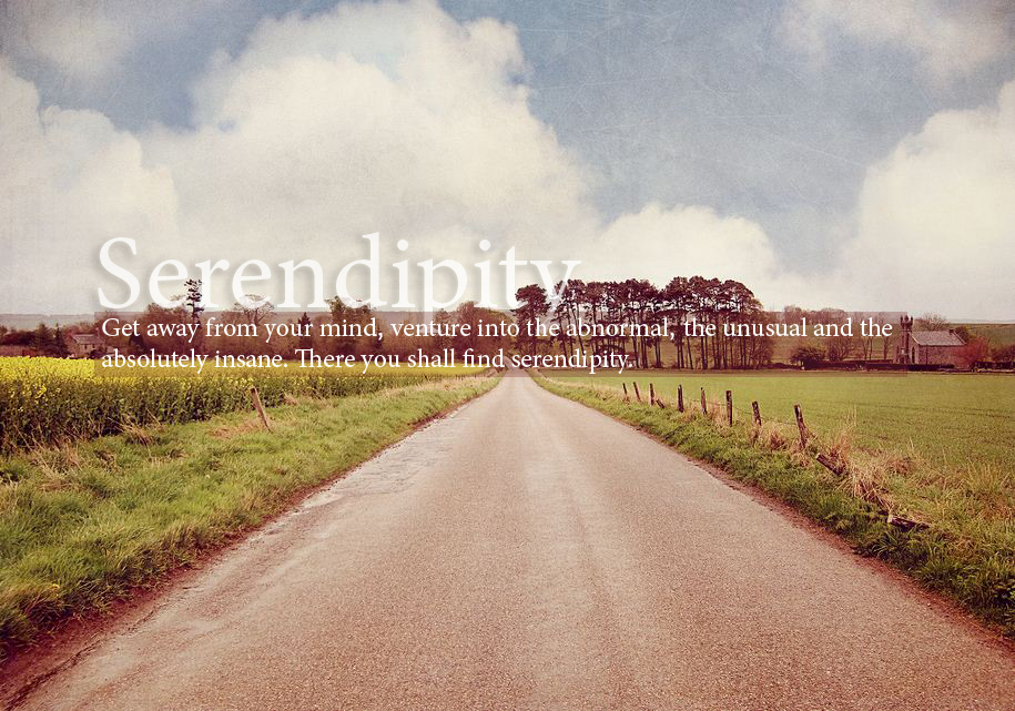Serendipity means a