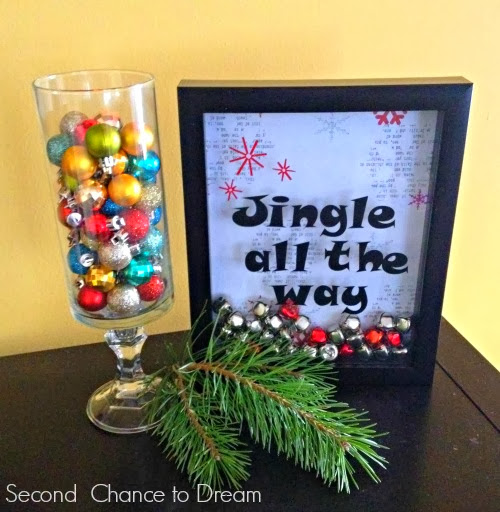Second Chance to Dream Jingle All the Way Christmas Decor