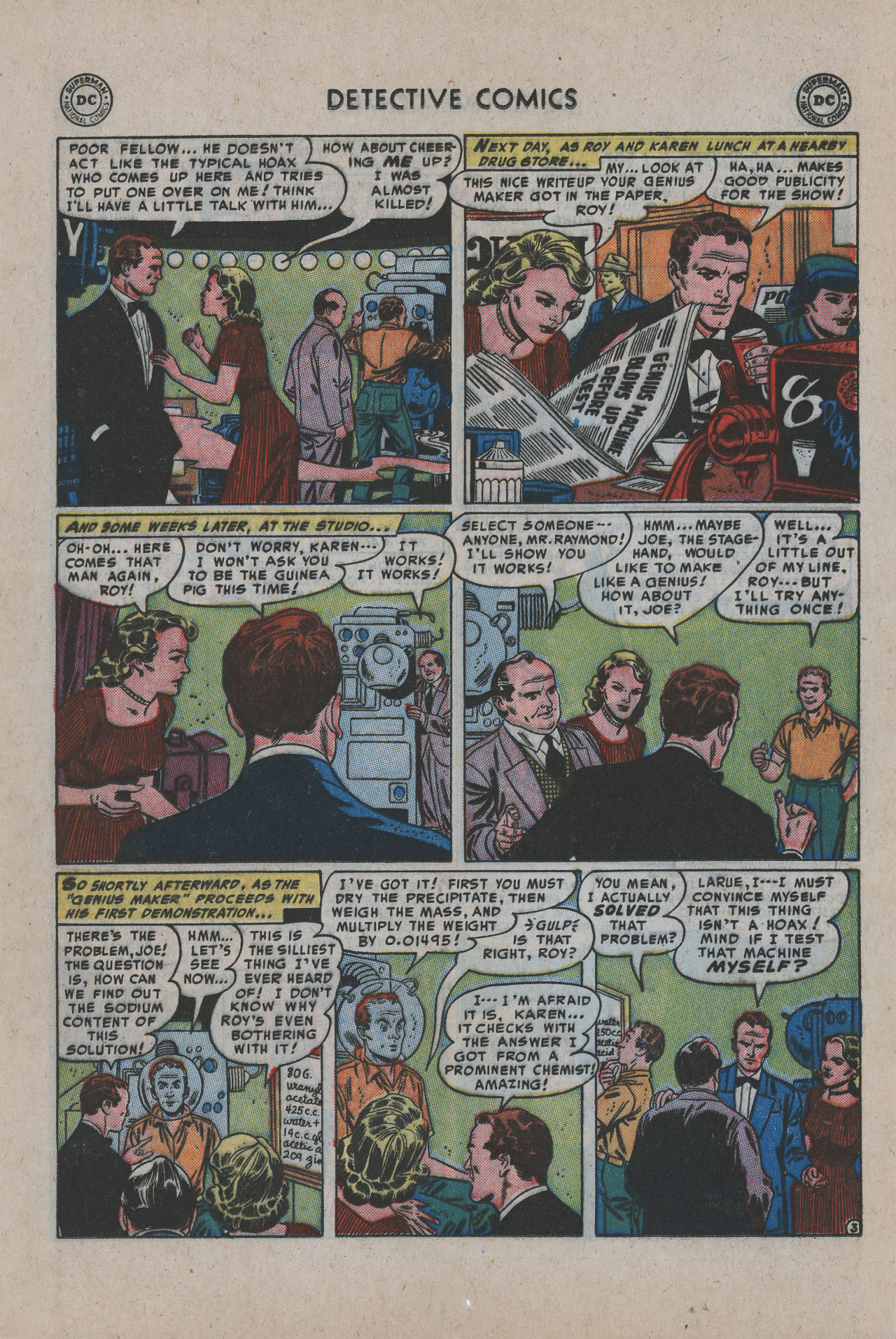 Read online Detective Comics (1937) comic -  Issue #200 - 20