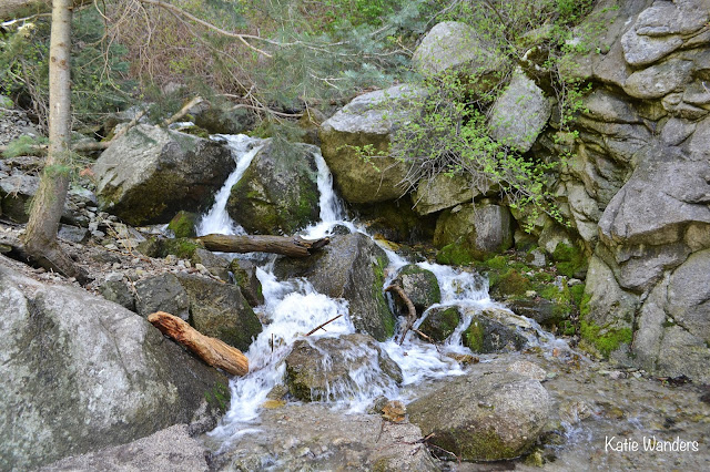 Waterfall along the Ferguson Canyon Trail