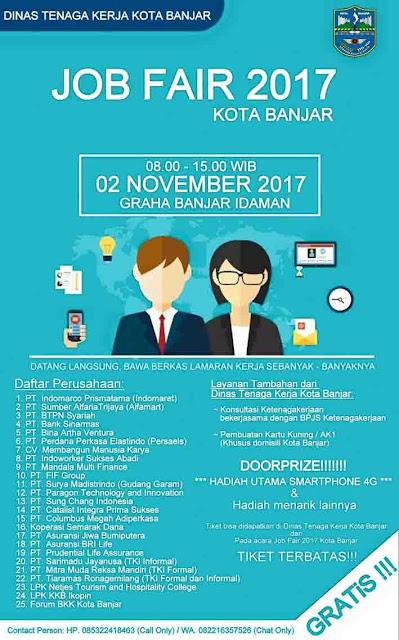 job fair kota banjar 2017
