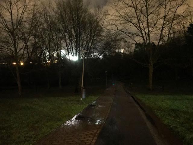 Falta de luces en Gorostiza