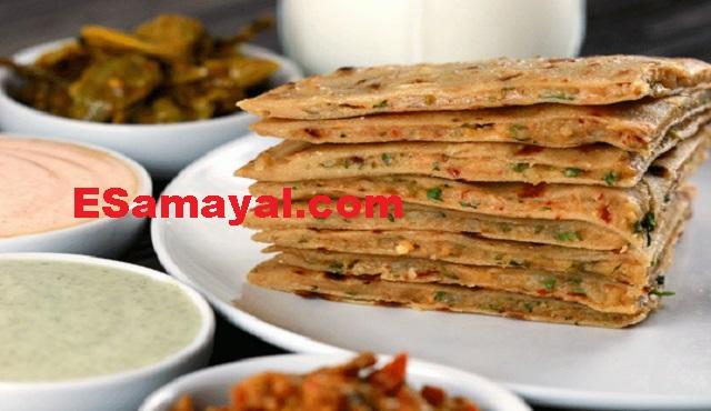 ஆலு ஸ்டஃப்டு சப்பாத்தி செய்முறை / Aloo Stuffed Chapathi Recipe !
