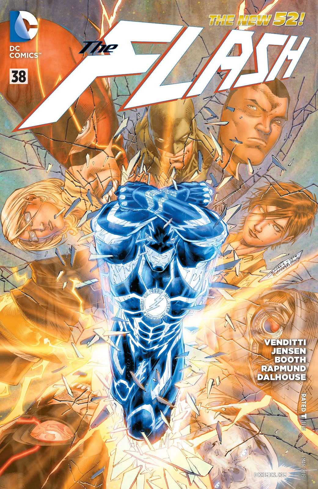 The Flash (2011) issue 38 - Page 1