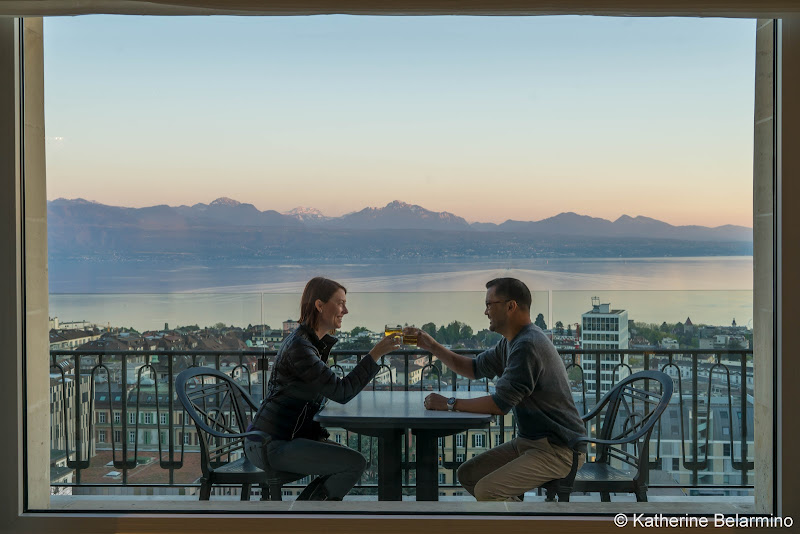 Hotel de la Paix Lausanne Balcony Lausanne Things to Do