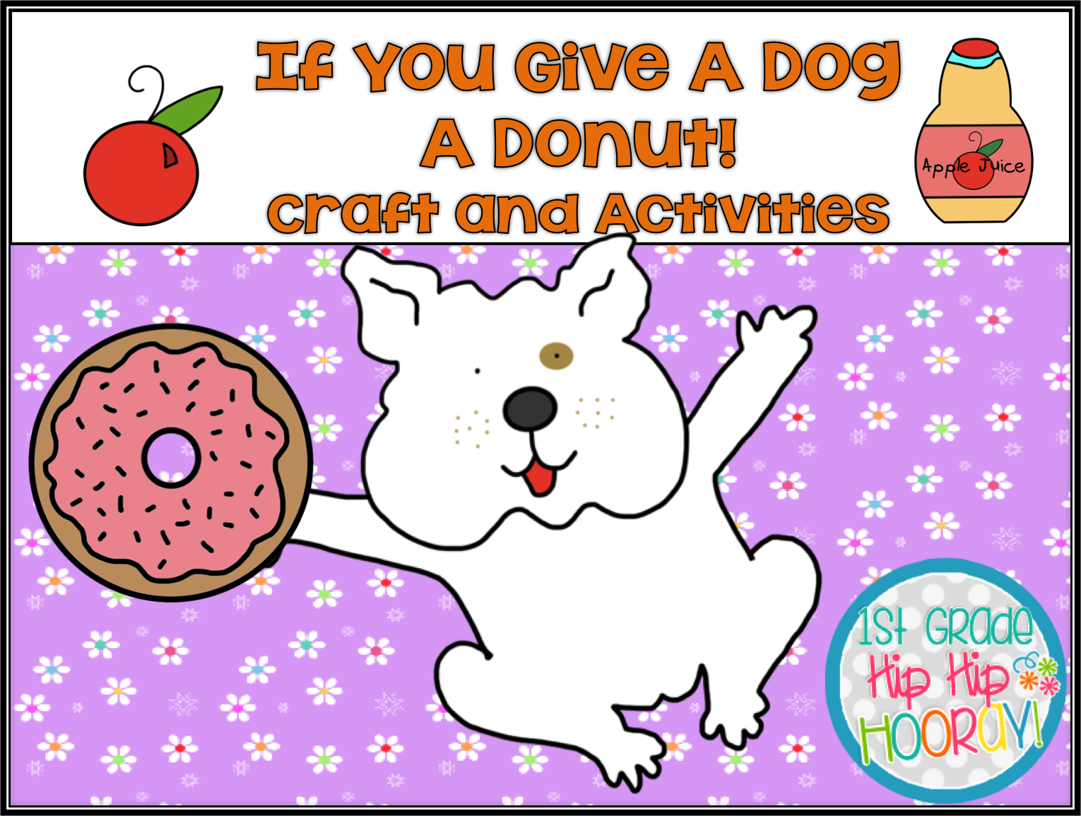 If You Give A Dog A Donut Craft