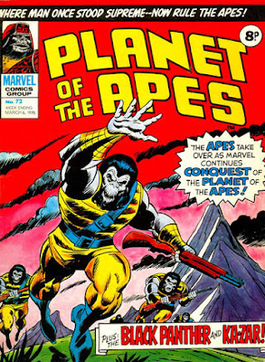 Marvel UK, Planet of the Apes #72, Conquest