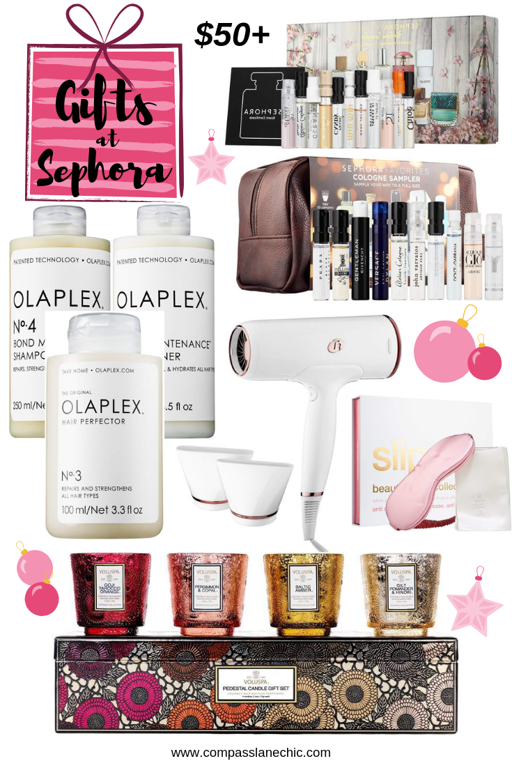 best 2018 Sephora beauty gifts over $50