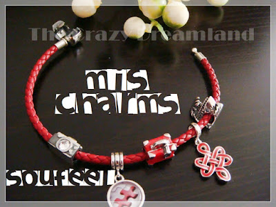 soufeel pulsera charms