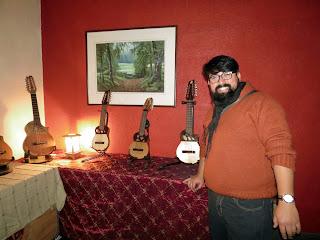 Luthier Claudio Rojas Caro