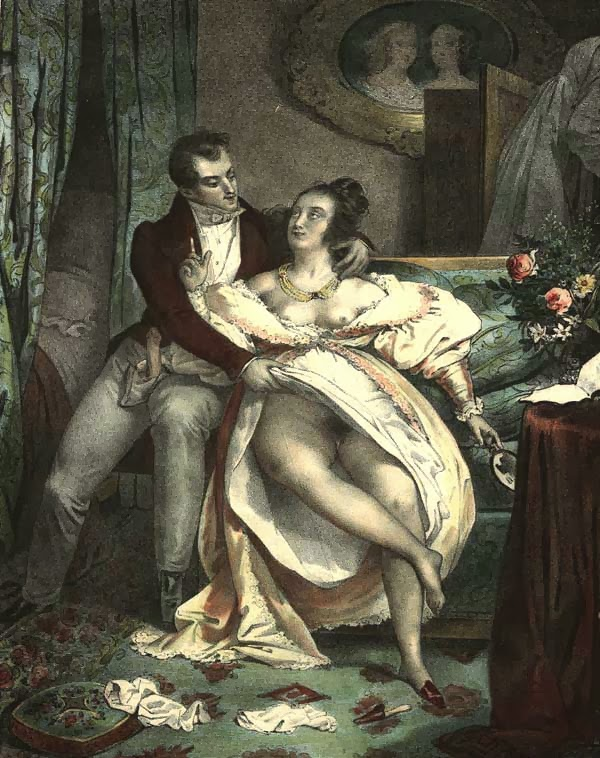 Antique erotic art french kuhn — pic 1
