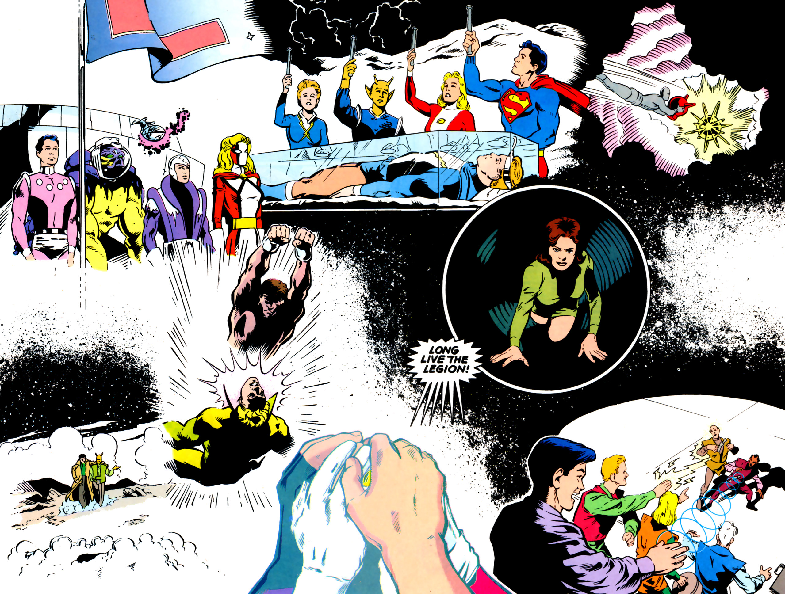 Legion of Super-Heroes (1989) 61 Page 22