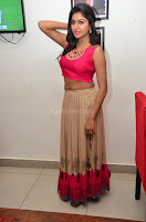 Akshita super cute Pink Choli at south indian thalis and filmy breakfast in Filmy Junction inaguration by Gopichand ~  Exclusive 005.JPG