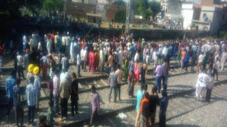Amritsar: An accident happened when the car ran away organizer