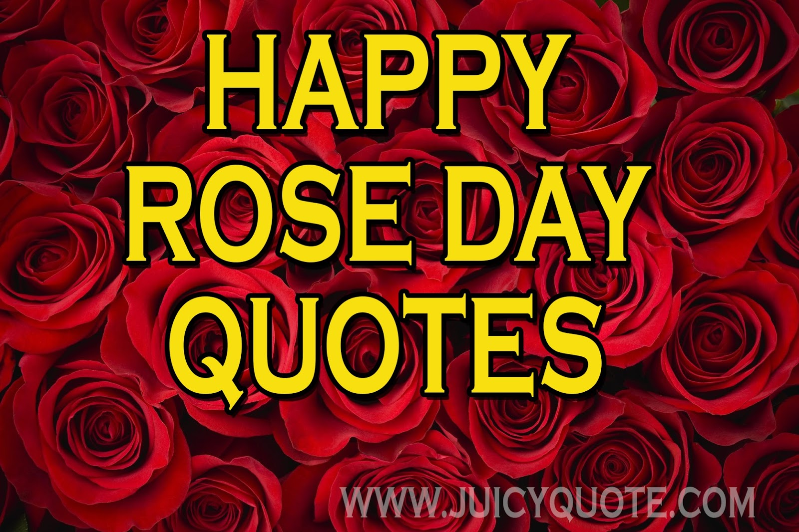 Happy rose day wishesquotes and greetings juicy quote rose day quotes and messages kristyandbryce Image collections