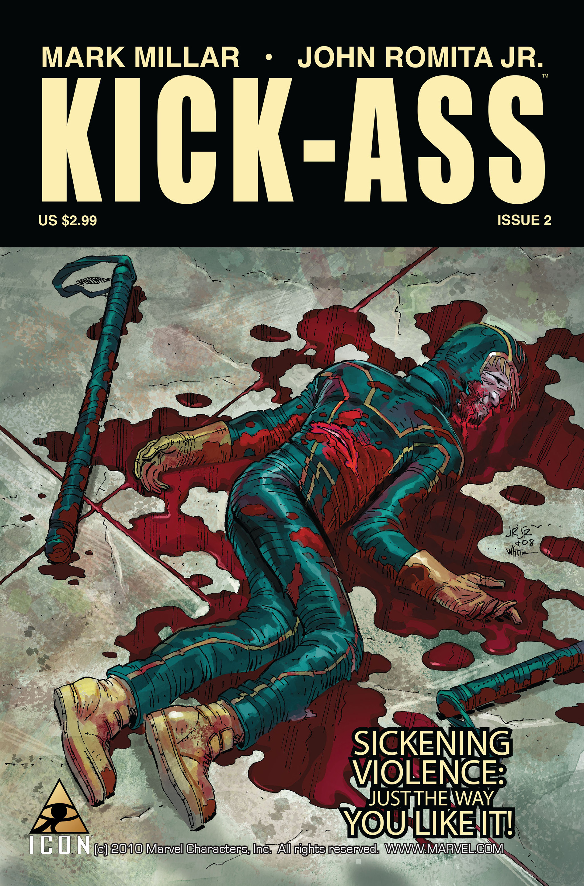 Kick-Ass (2008) issue 2 - Page 1
