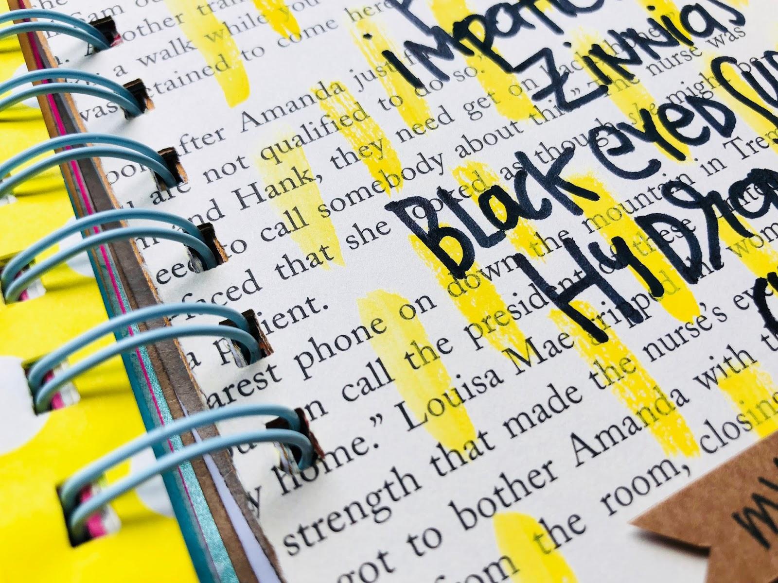 #30lists #listmaker #list challenge #mini book #scrapbooking #smashbook #favorite plants