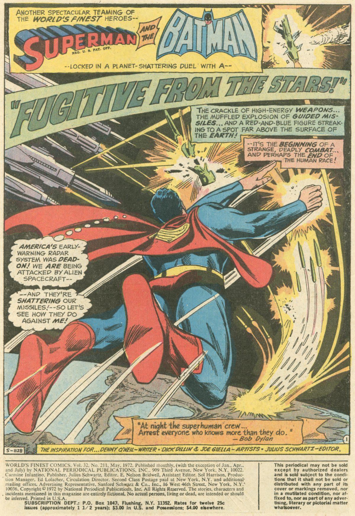 Read online World's Finest Comics comic -  Issue #211 - 3