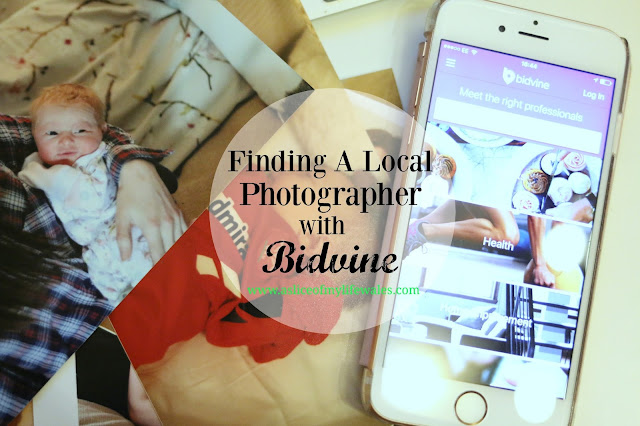 easily find a local photographer with Bidvine, an app that matches customers to local services - just register your interest and wait for the quotes to arrive