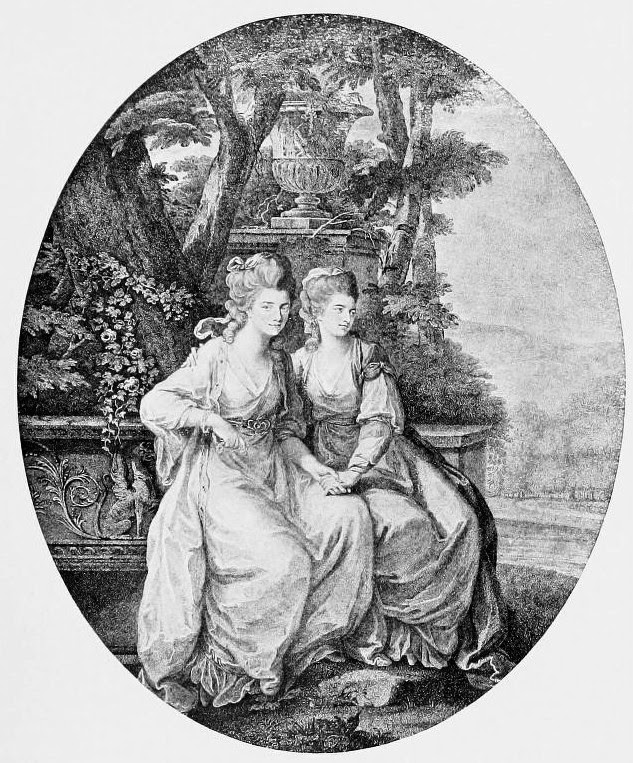Georgiana, Duchess of Devonshire  and her sister Harriet, Countess of Bessborough  from Lord Granville Leveson Gower's  private correspondence 1781-1821 (1916)