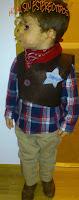 disfraz; costume; cowboy; vaquero