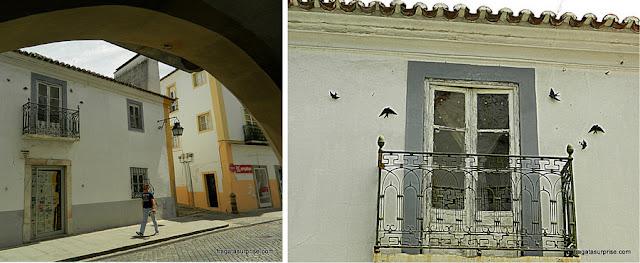 Rua medievais de Évora, Portugal