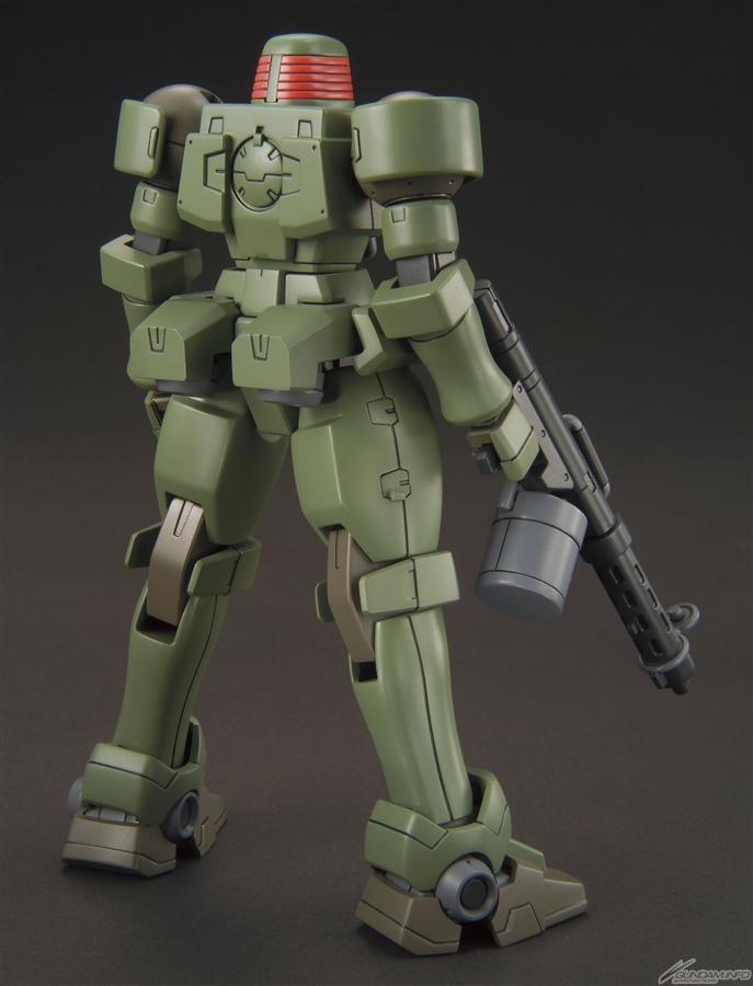 HGAC 1/144 OZ-06MS Leo back 2