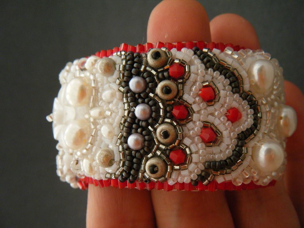 Crimson Frog Designs By Kinga Nichols Snow White Cuff