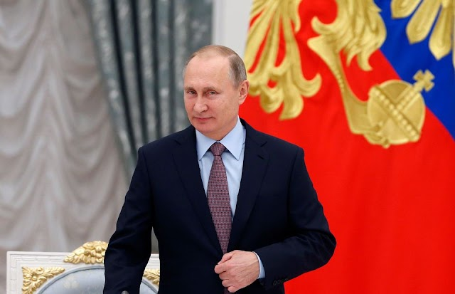 #Politics,#World : Russian President Vladimir Putin won a landslide re-election victory on Sunday.