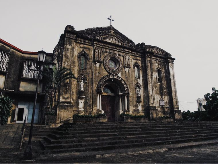 Front of Guadalupe Church